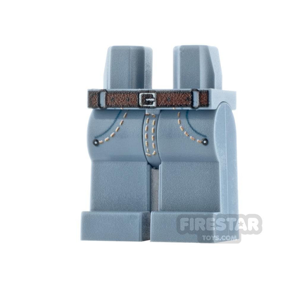 Custom Design Legs - Jeans - Sand Blue