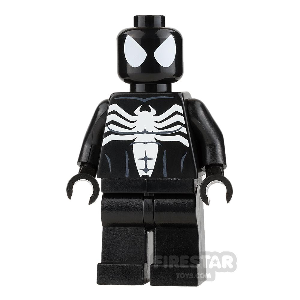 Custom Design Mini Figure - Spiderman - Black Symbiote Suit