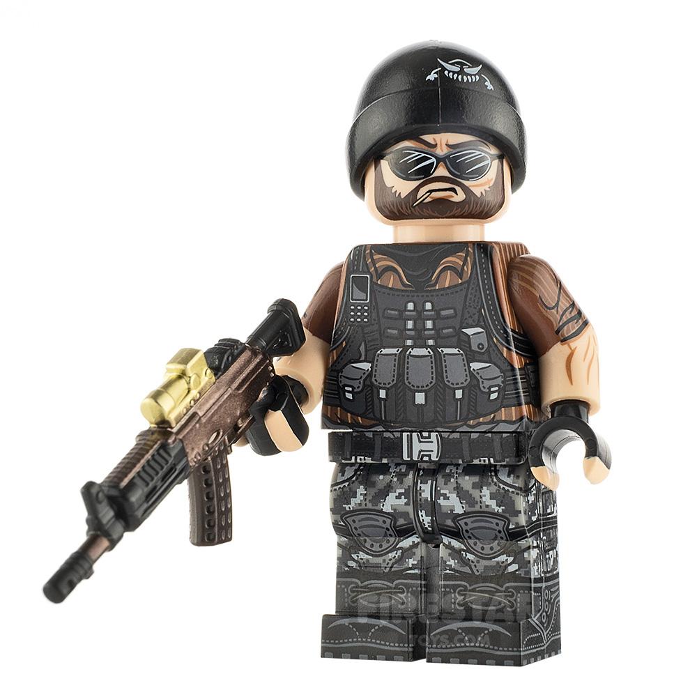 Custom Design Minifigure Mercenary