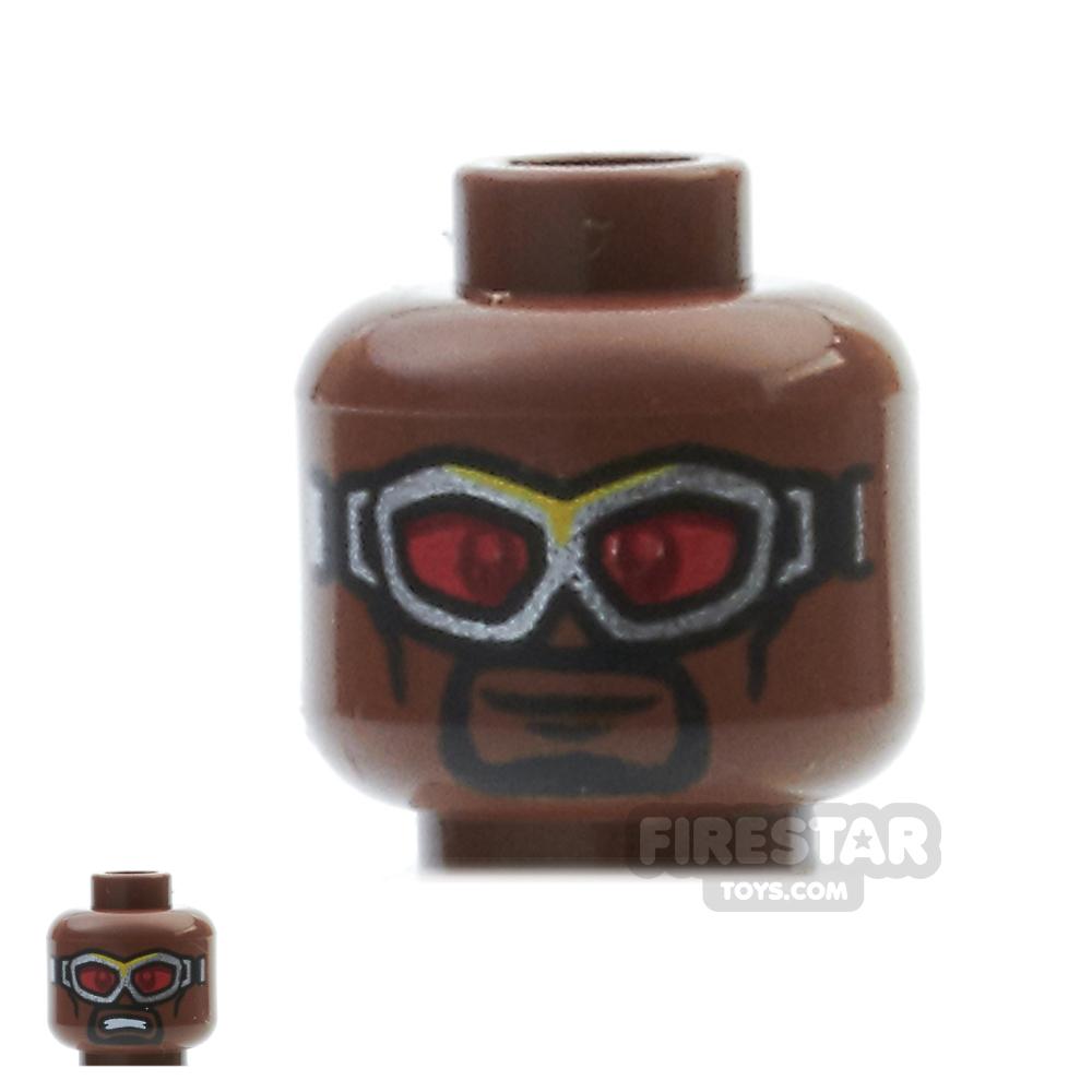 LEGO Mini Figure Heads - Falcon