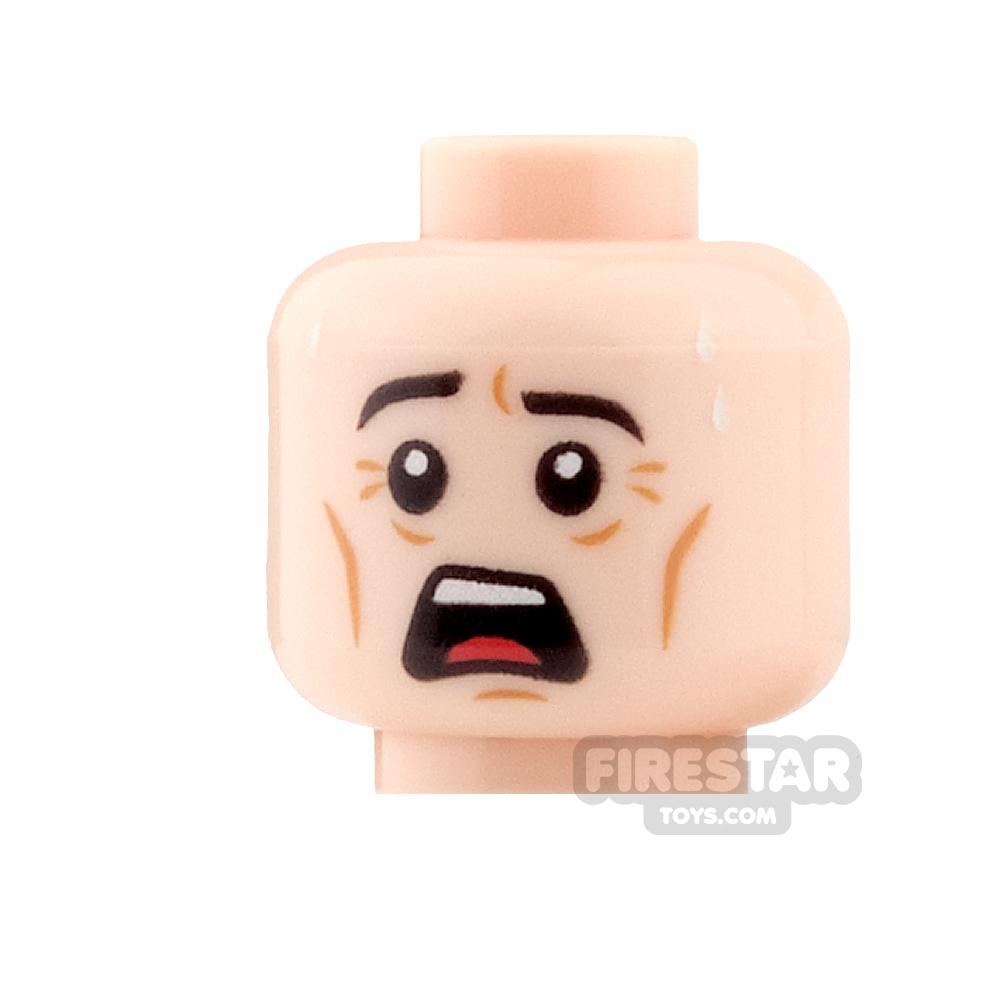 LEGO Mini Figure Heads - Open Mouth Surprised