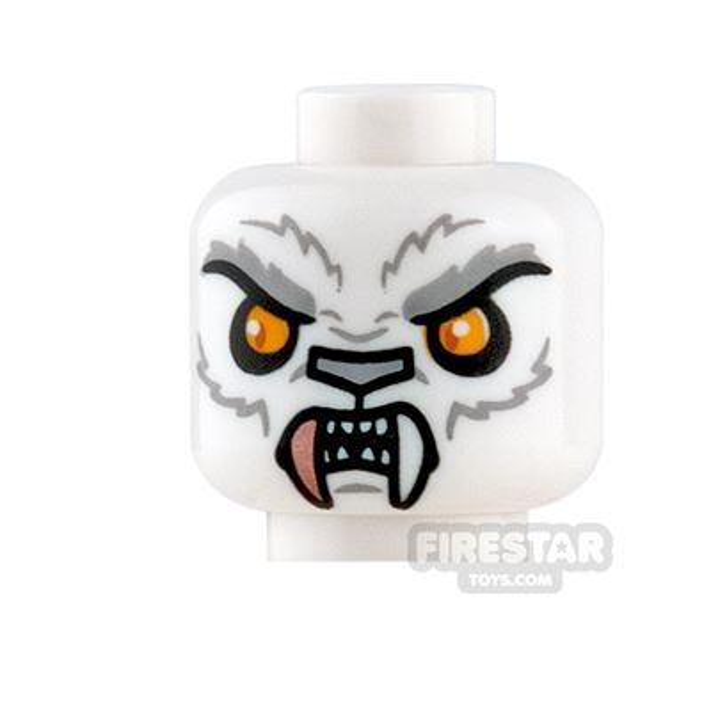 LEGO Mini Figure Heads - Tiger - Sir Fangar