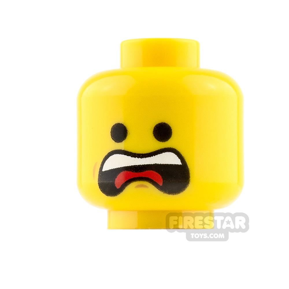 LEGO Mini Figure Heads Scream