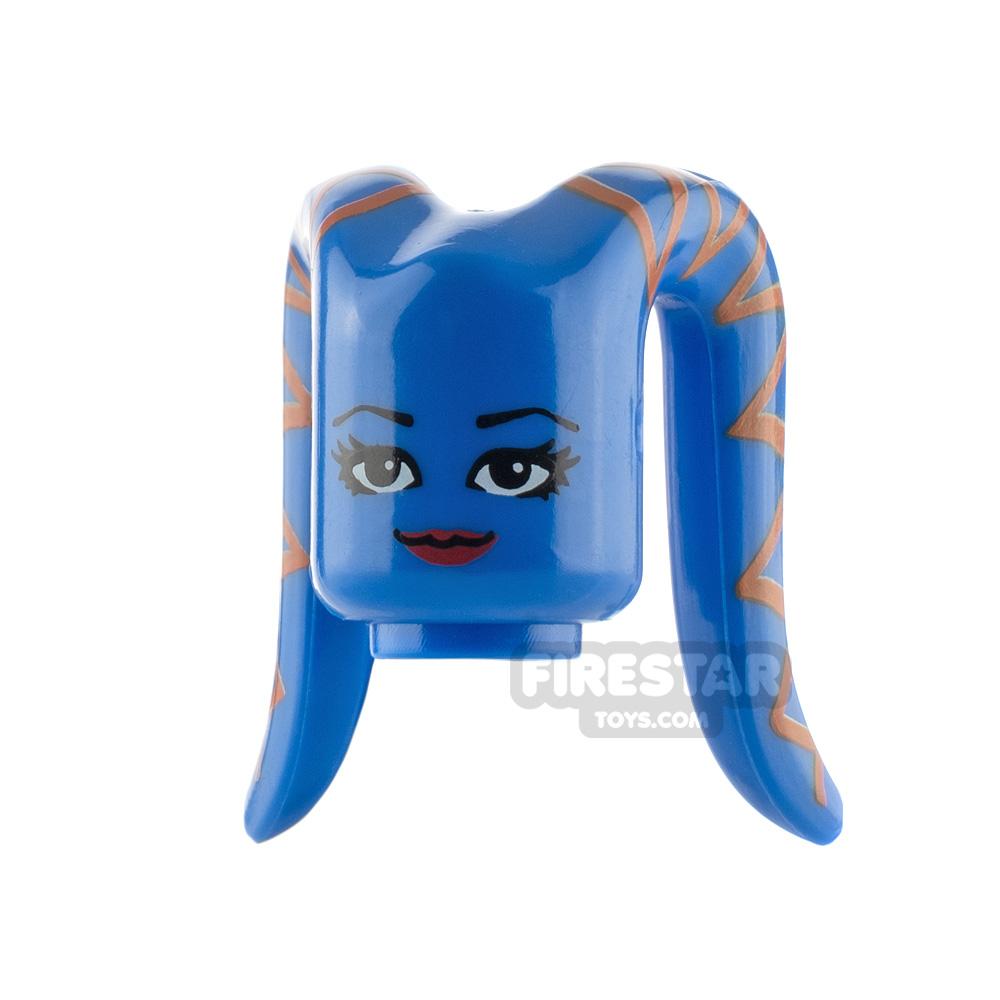 Arealight Mini Figure Heads - Blue