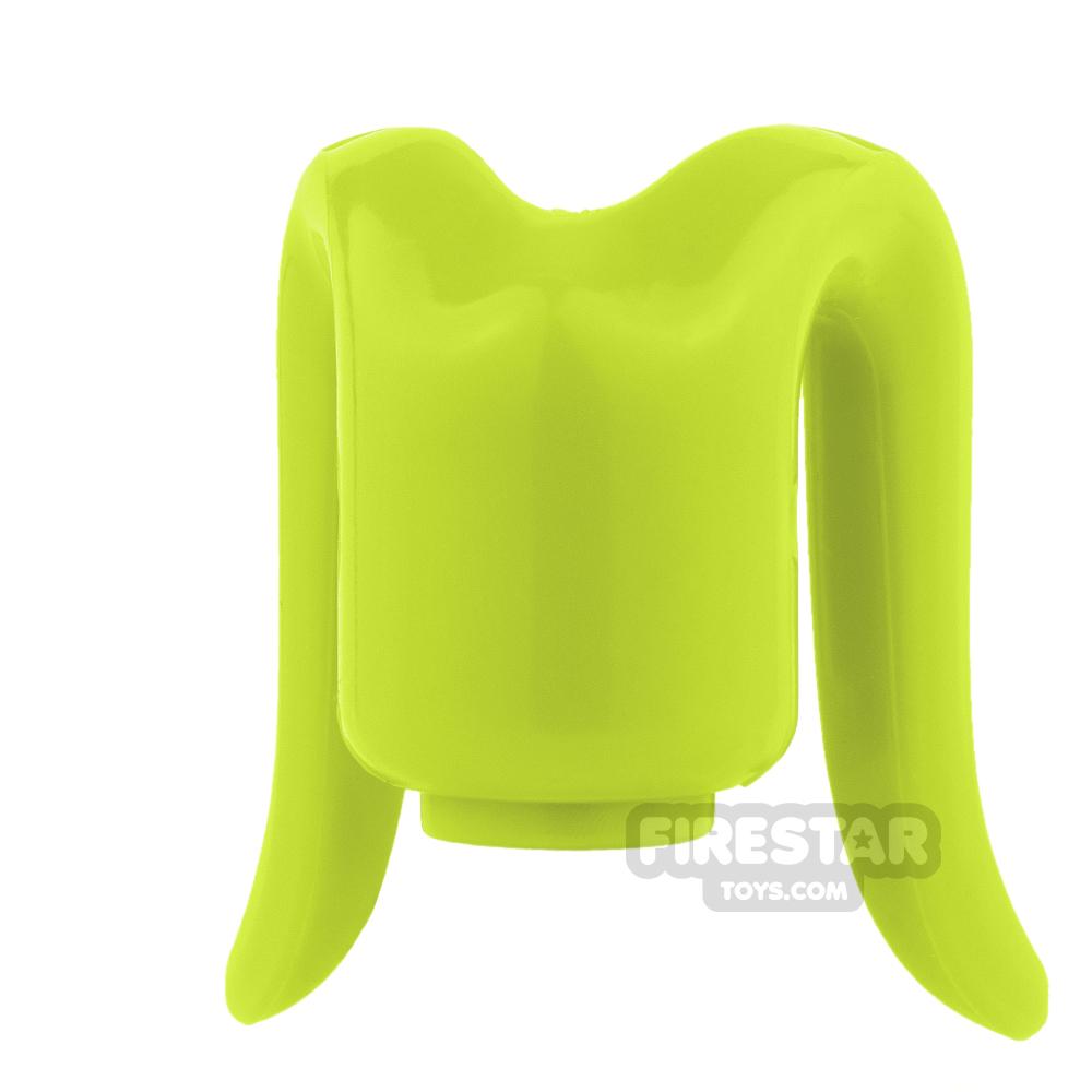 Arealight Mini Figure Heads - Lime - Plain