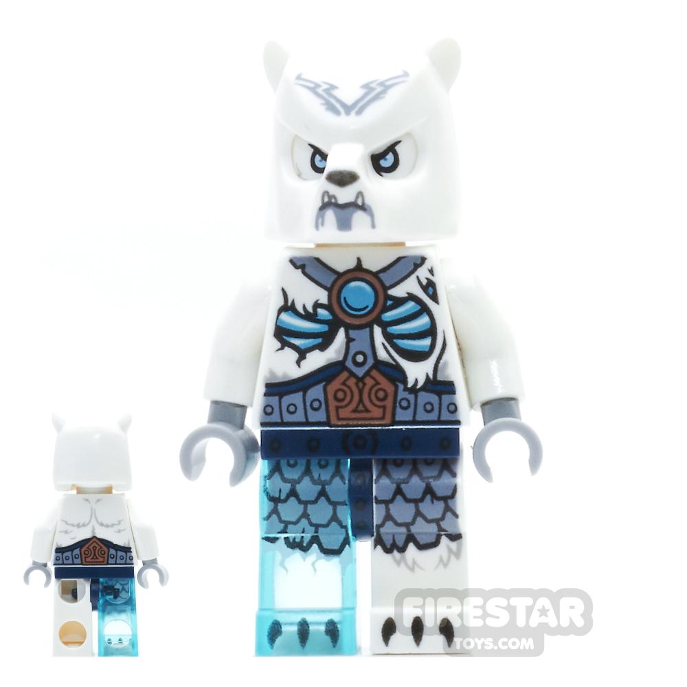 LEGO Legends of Chima Mini Figure - Ice Bear Warrior 2