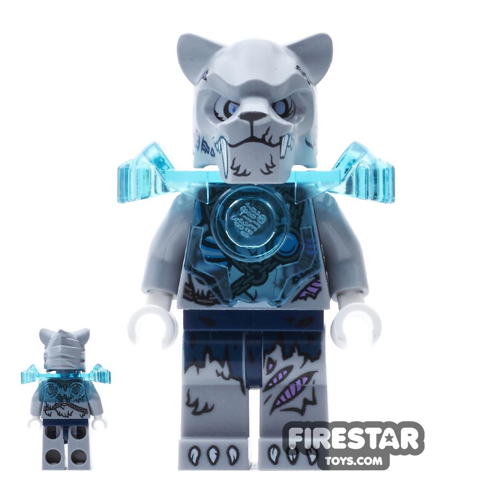 LEGO Legends of Chima Mini Figure - Sykor - Heavy Armour