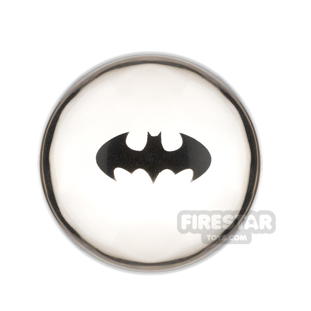 Printed Cylinder Hemisphere 4x4 Batman Logo