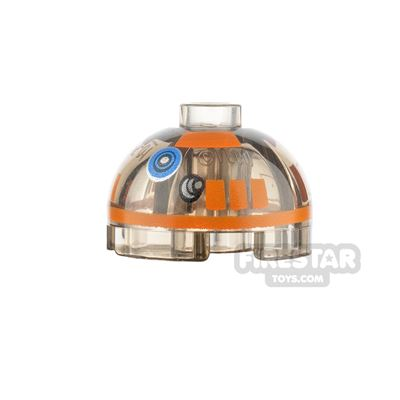 Printed Round Brick 2x2 Dome Top R3-A2 Droid
