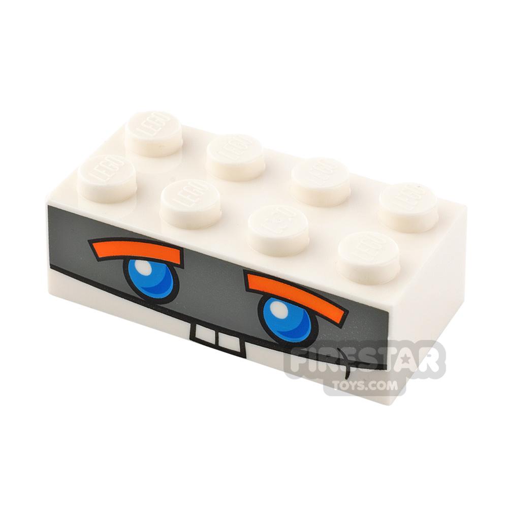 Printed Brick 2x4 Boost Face
