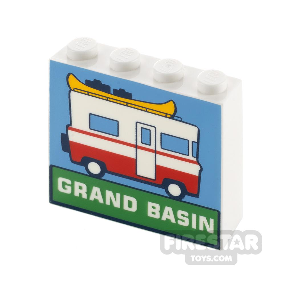 Printed Brick 1x4x3 Camper Van