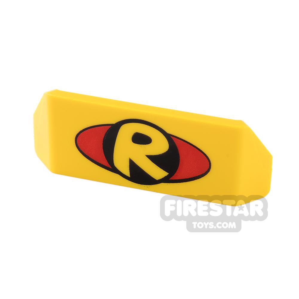 Car Spoiler 2 x 4 with Handle - Robin Logo