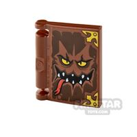 Printed Book Cover 2x2 - Book of Monsters
