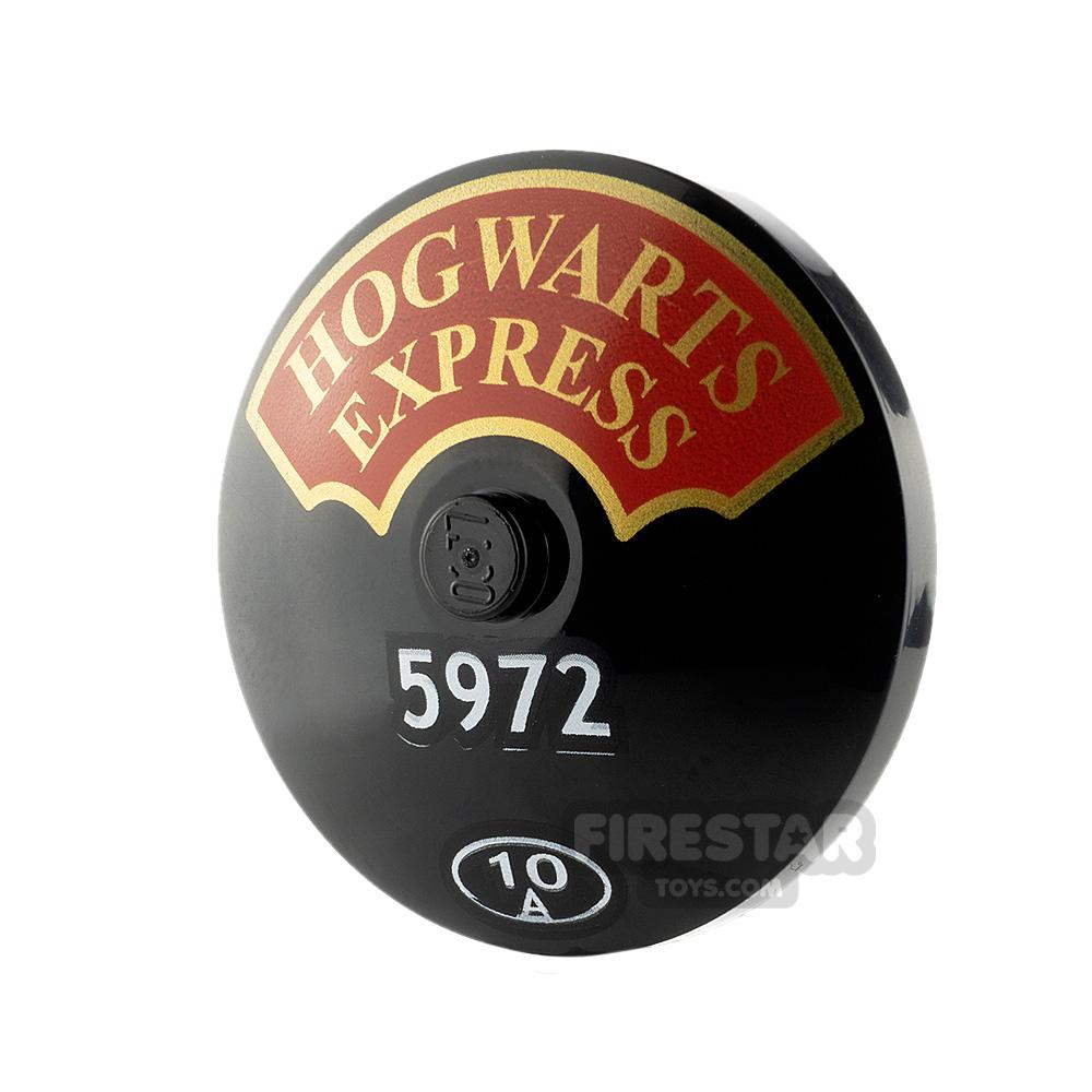Printed Dish Harry Potter Hogwarts Express