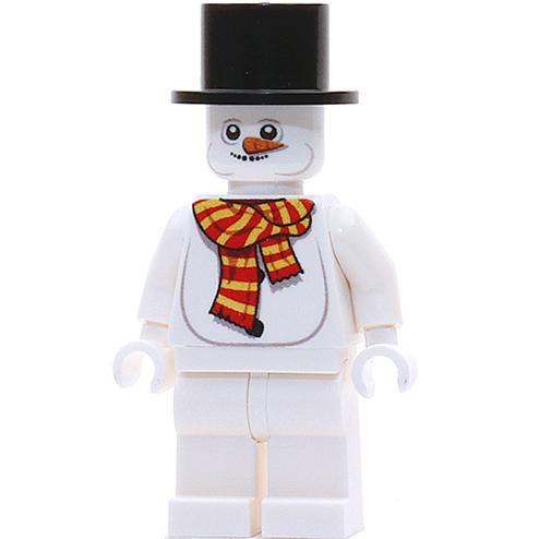 Custom Design Minifigure Snowman Mr Melty