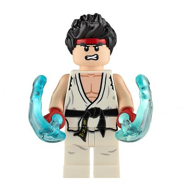 Custom Design Minifigure Ryu