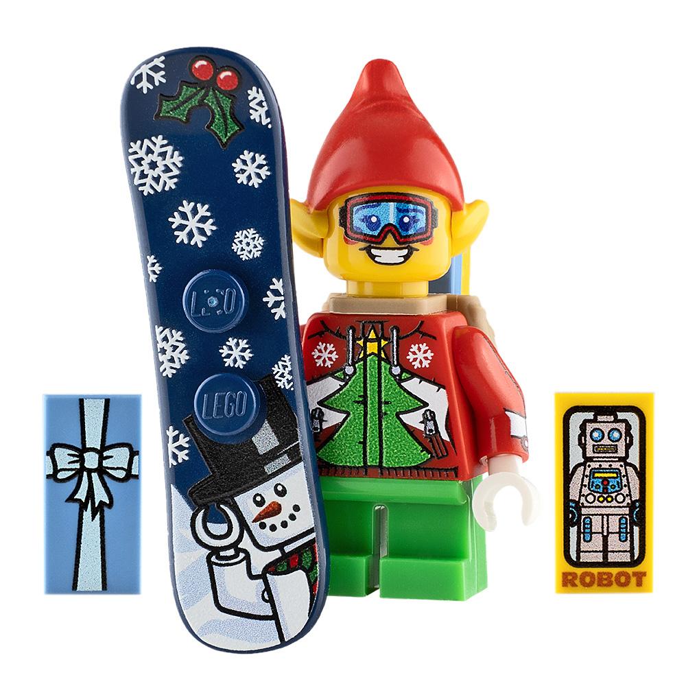 Custom Design Minifigure Faceplant the Elf