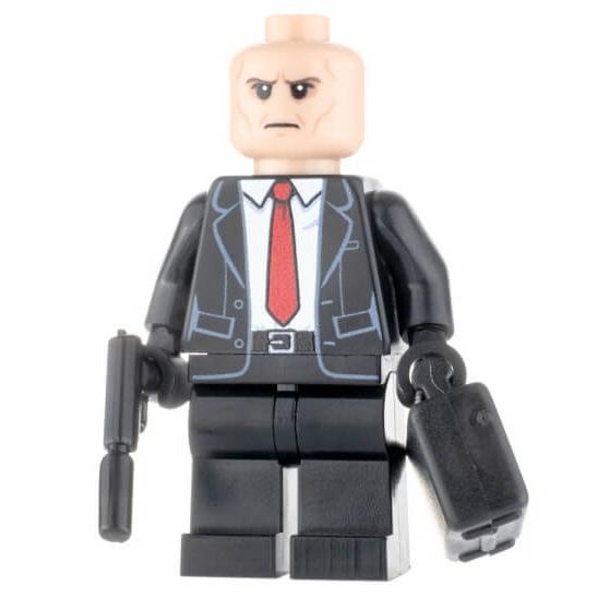 Custom Design Minifigure Brickman 47
