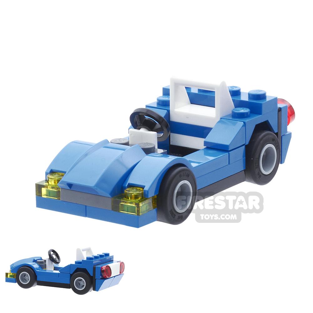 Custom Mini Set - Sports Car - Blue