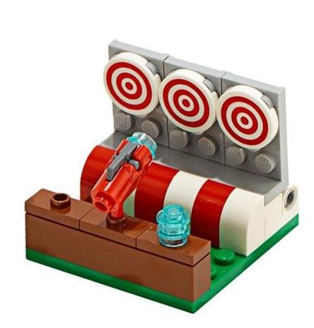 Custom Mini Set Fairground Shooting Gallery Game