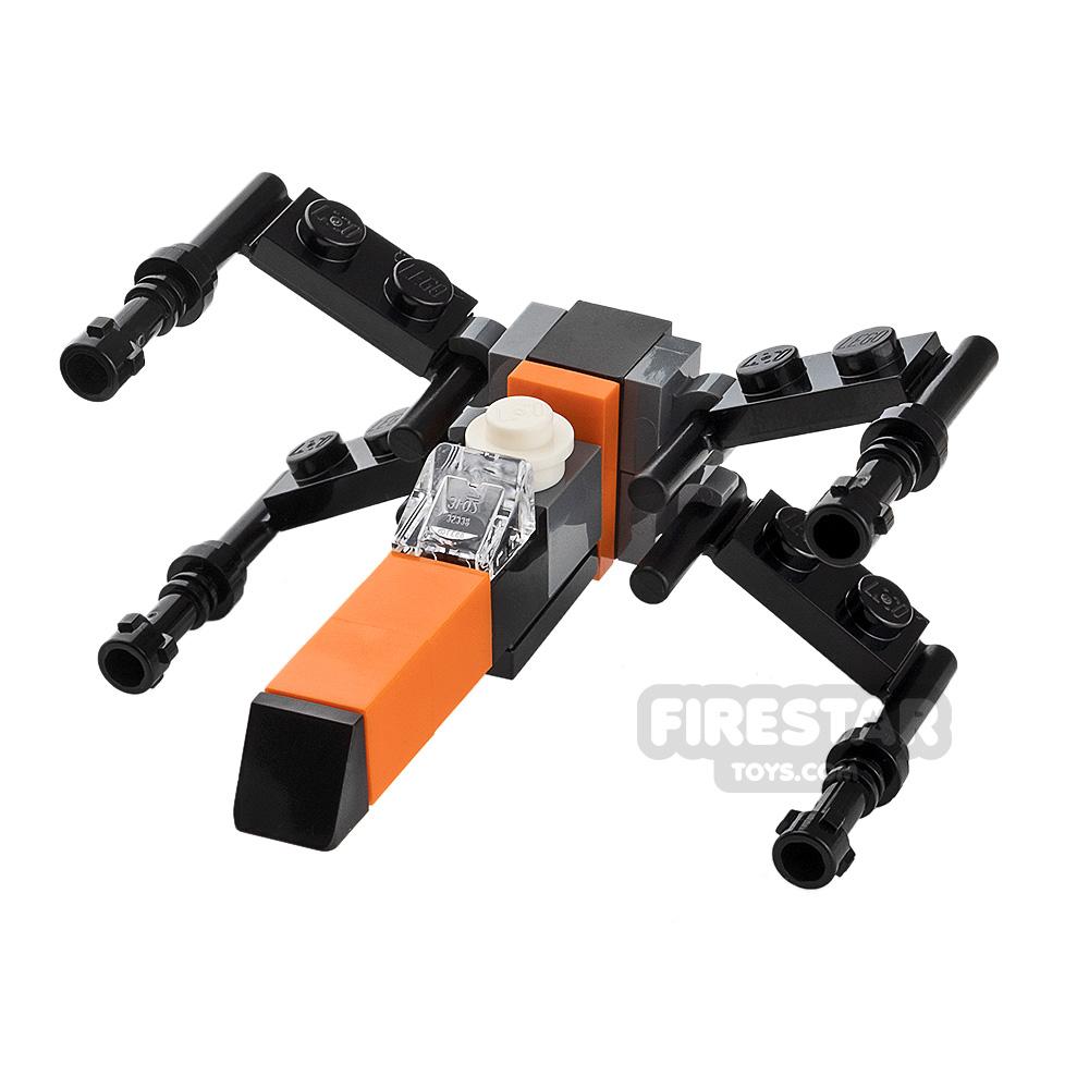 Custom Mini Set Mini Poe's X-Wing Fighter