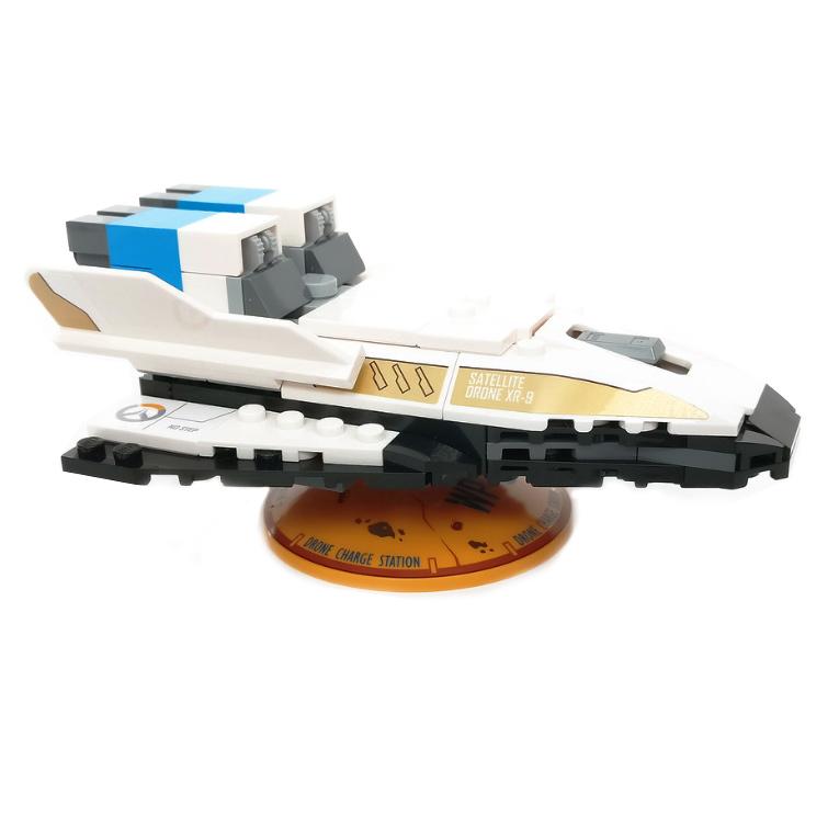 Custom Mini Set Overwatch Satellite Drone