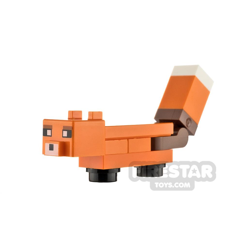 LEGO Minecraft Minifigure Fox