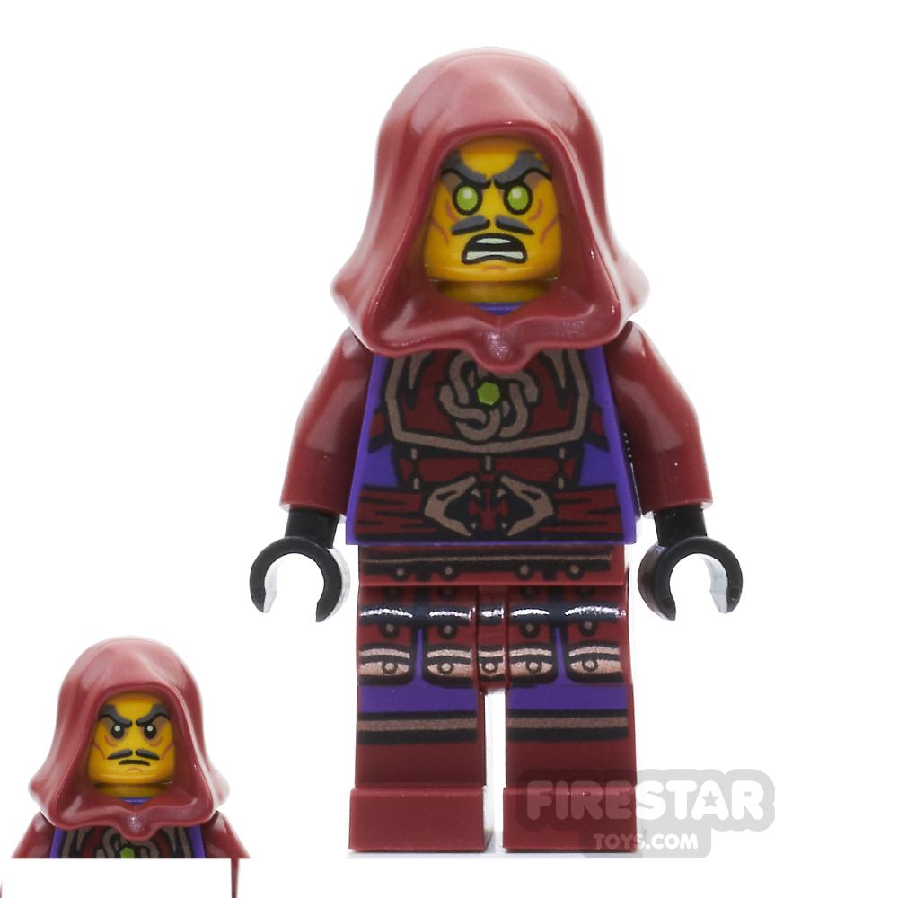 LEGO Ninjago Mini Figure - Clouse - with Hood