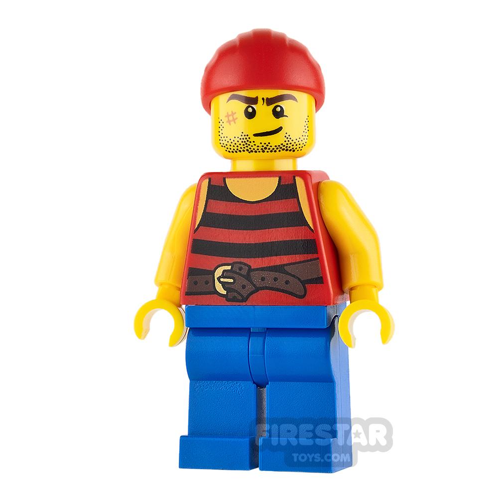 LEGO Pirate Mini Figure - Pirate 3