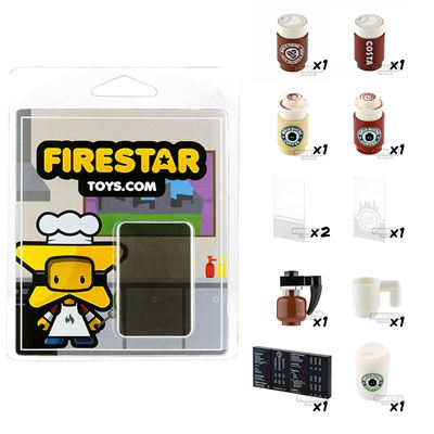 Cafe Pack - Set of 11 Cafe Accessories