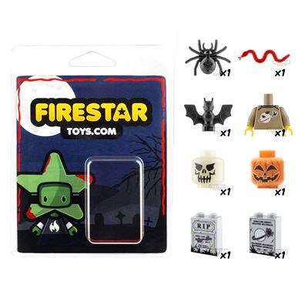Halloween Essential Pack - Set of 8 Halloween Accessories