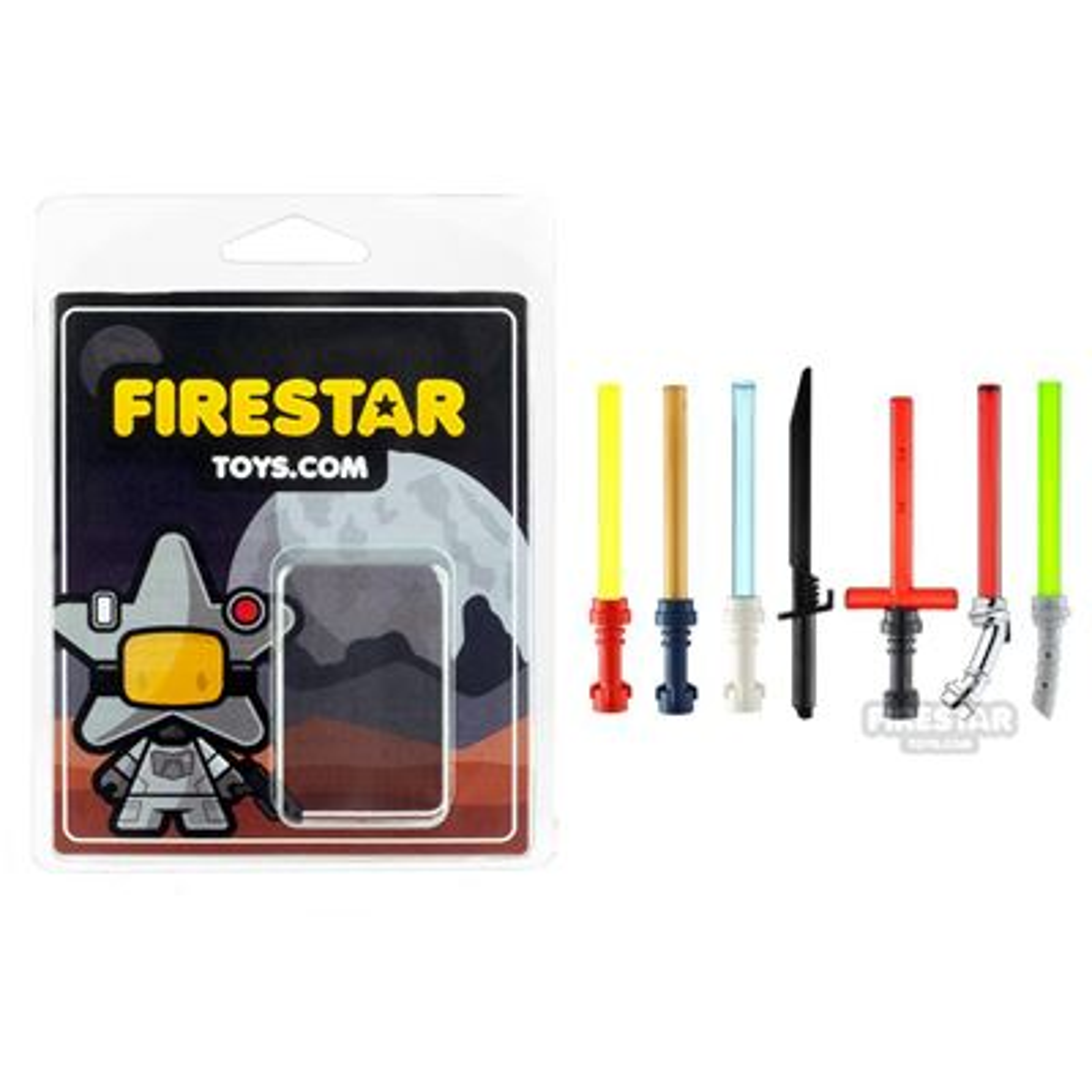Lightsaber Weapon Pack 2 - Set of 7 Lightsabers