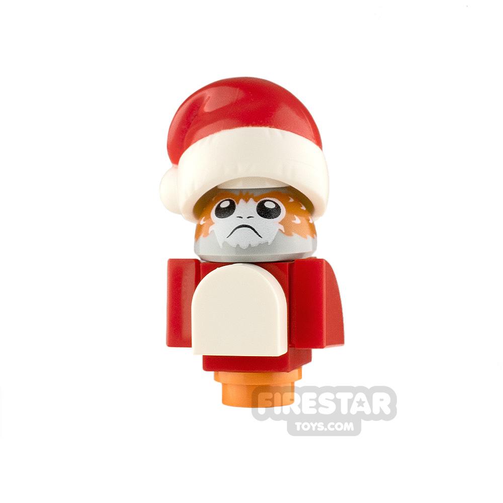 LEGO Star Wars Minifigure Porg Santa