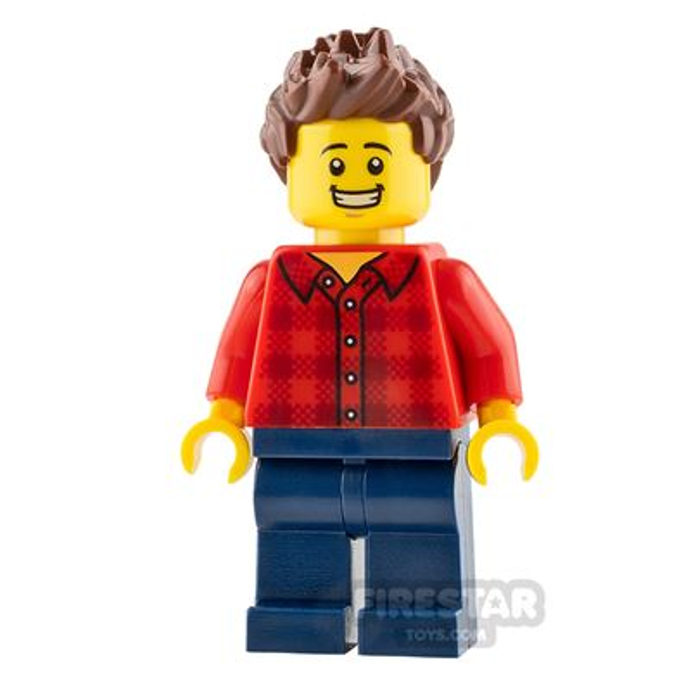 LEGO Speed Champions Minifigure Race Fan