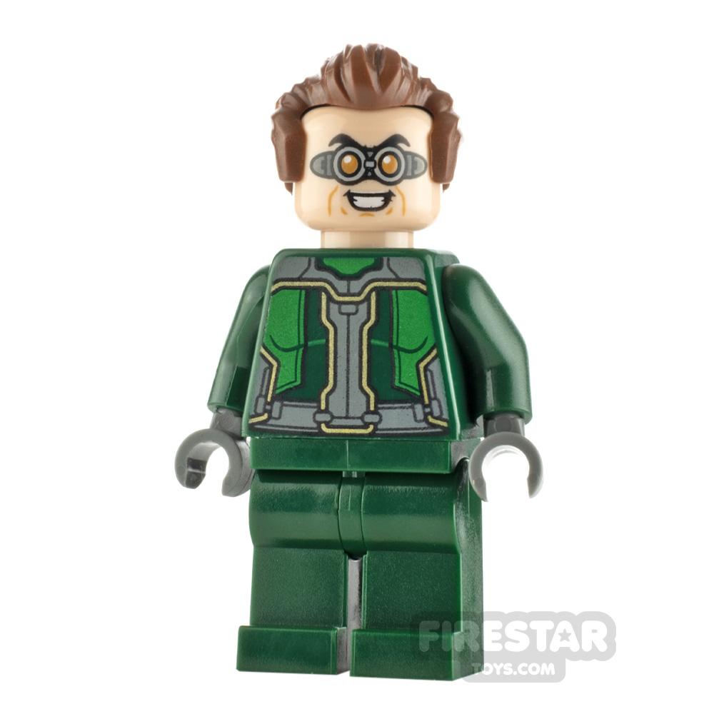 LEGO Super Heroes Minifigure Dr. Octopus Dark Green Suit