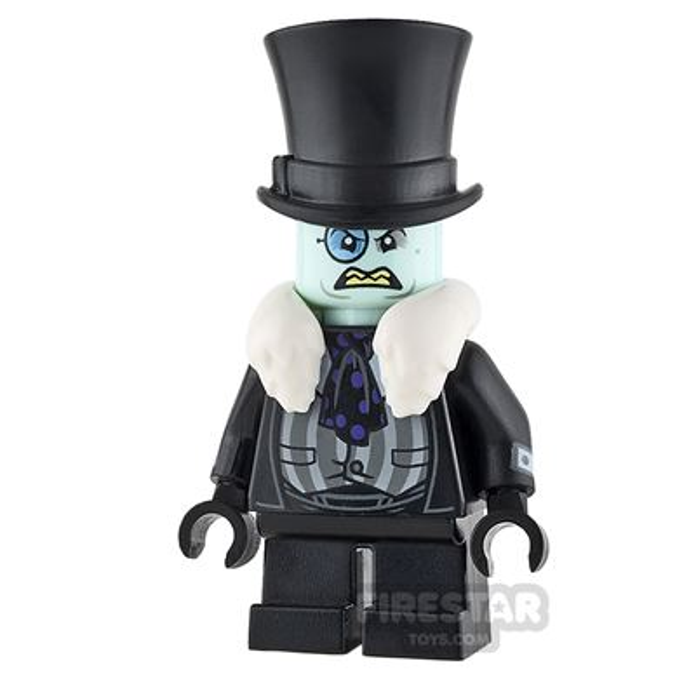 LEGO Super Heroes Mini Figure - The Penguin - Scowling Face