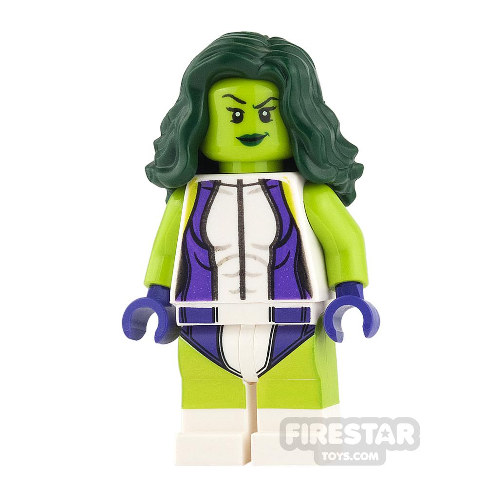 LEGO Super Heroes Mini Figure - She-Hulk