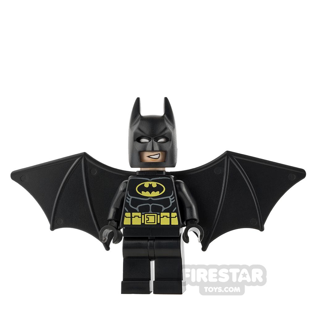 LEGO Super Heroes Mini Figure - Batman - Black Wings - Black Headband