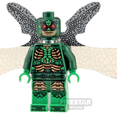 LEGO Super Heroes Mini Figure - Parademon - Extended Wings - Green