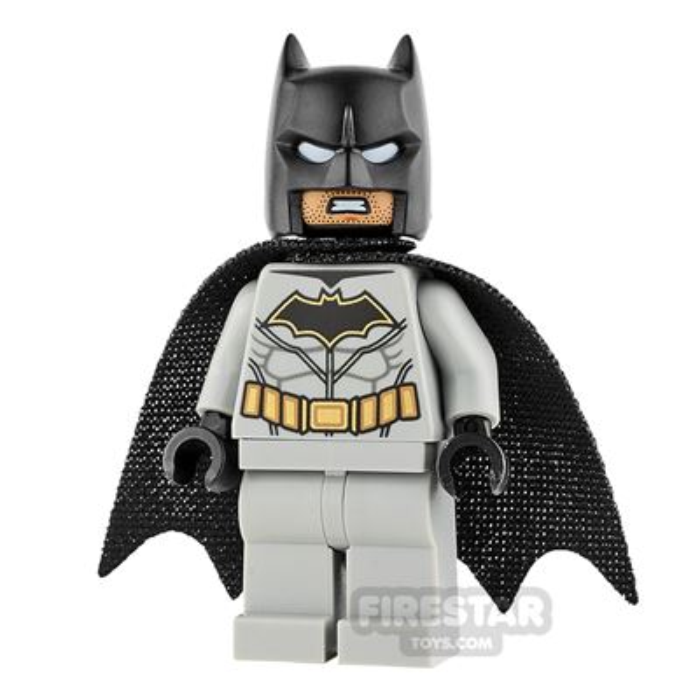 LEGO Super Heroes Mini Figure - Batman - Light Blueish Gray Suit