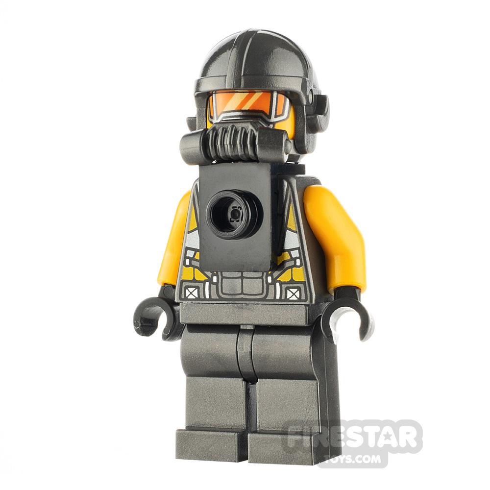 LEGO Super Heroes Minifigure AIM Agent Neck Bracket