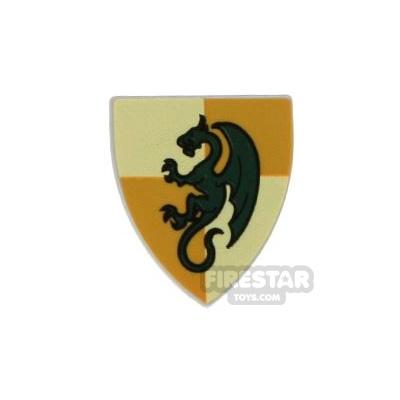 LEGO - Green Dragon Shield