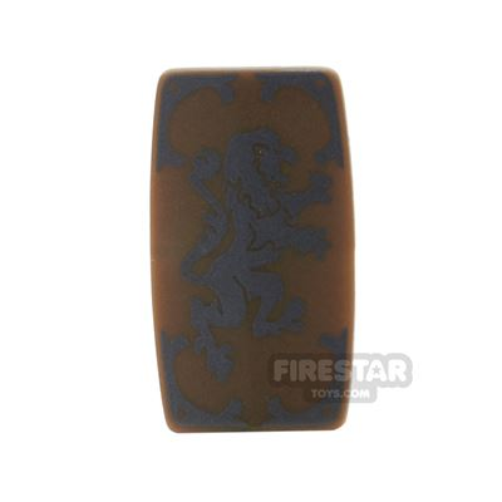 BrickForge - Military Shield - Medieval Lion - Bronze