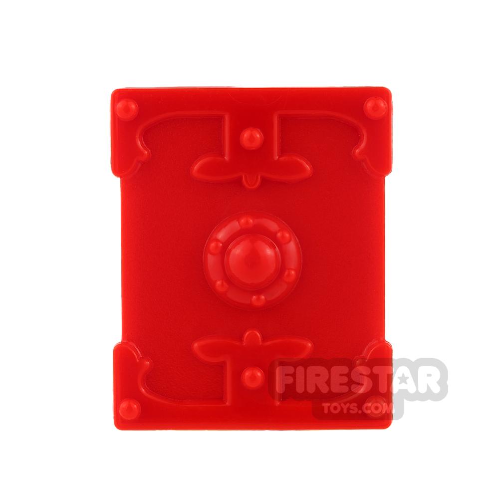 BrickTW - Rectangle Shield - Red