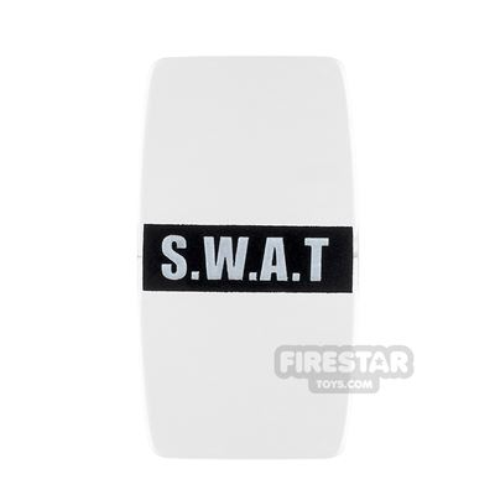 BrickForge - Military Shield - S.W.A.T - Trans Clear