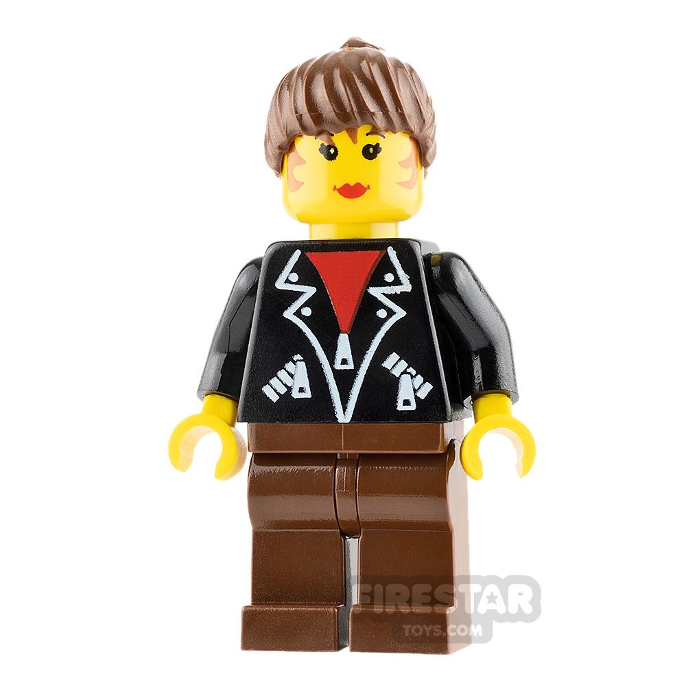 LEGO City Minifigure Leather Jacket
