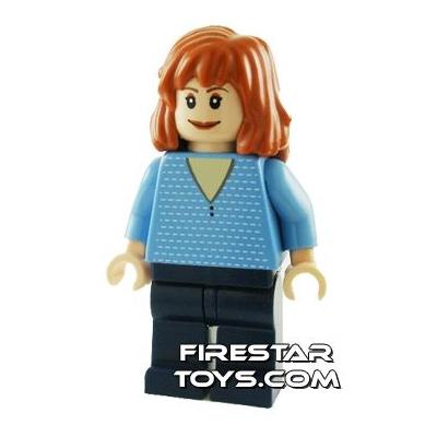 LEGO Spiderman Mini Figure - Mary Jane 4 - Blue Outfit