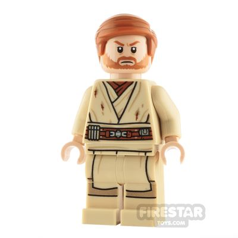 LEGO Star Wars Minifigure Obi-Wan Kenobi Dirt Stains