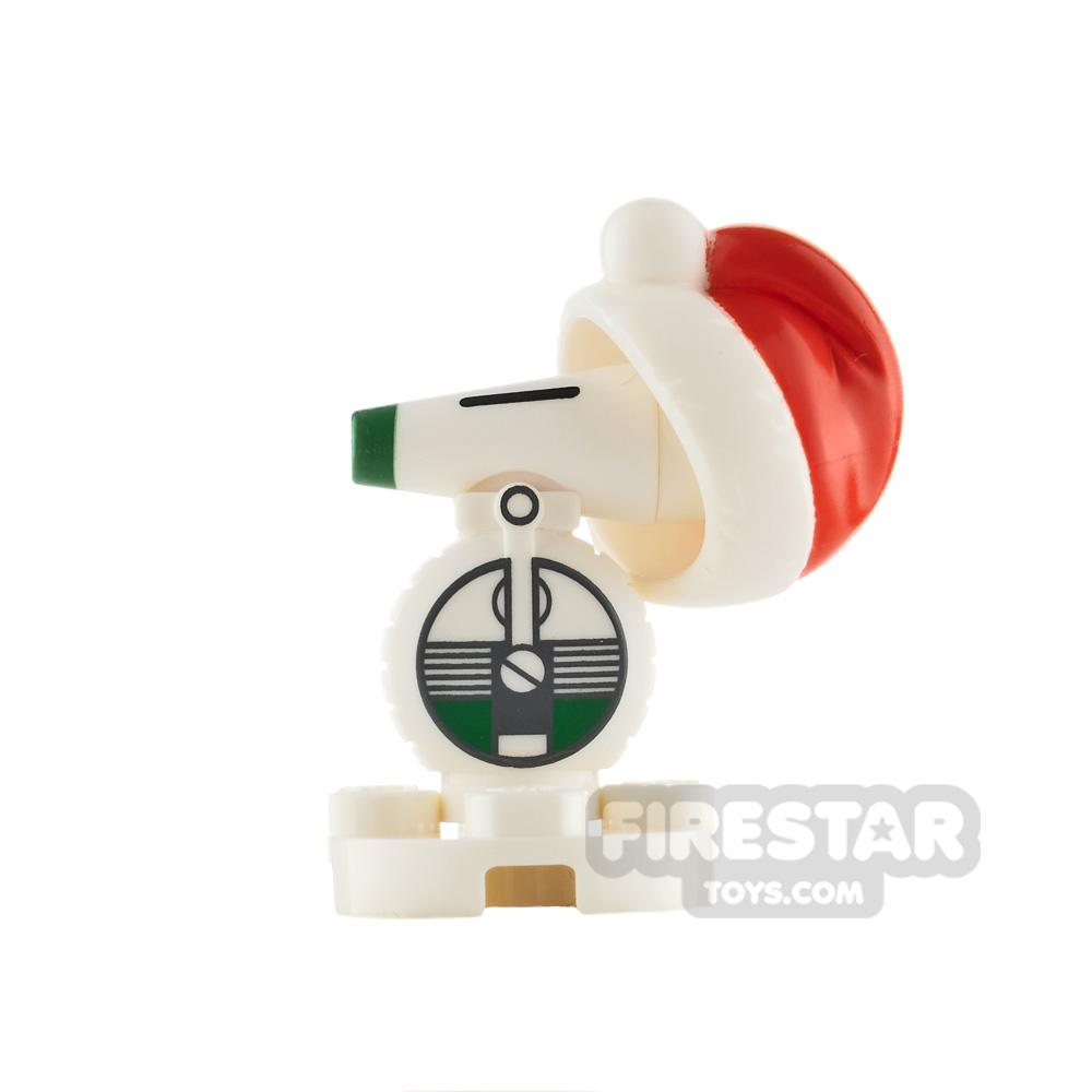 LEGO Star Wars Minifigure D-O with Santa Hat