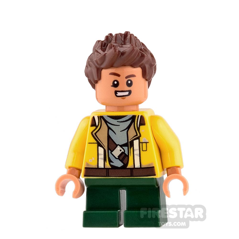 LEGO Star Wars Minifigure Rowan Yellow Jacket
